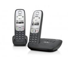 Радиотелефон GIGASET A415A DUO RUS BLACK