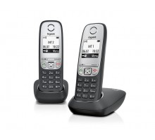 Радиотелефон GIGASET A415 DUO RUS BLACK