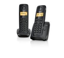 Радиотелефон GIGASET A120 DUO RUS BLACK