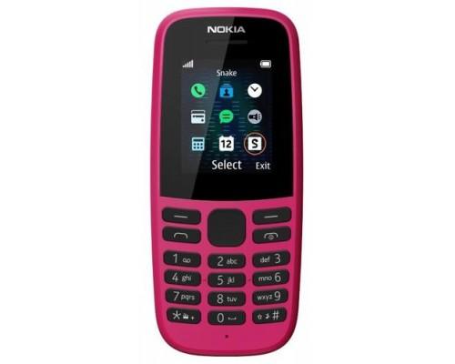 Телефон NOKIA 105 SS EAC UA PINK