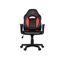 Игровое кресло 2E GAMING GC21 (JUNIOR) BLACK/RED