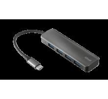 Концентратор Trust Halyx USB-C to 4-Port USB-A 3.2 Hub