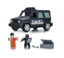 Игровая коллекционная фигурка Jazwares Roblox Feature Vehicle Jailbreak: SWAT Unit W4