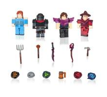 Игровая коллекционная фигурка Jazwares Roblox Four Figure Pack Vesteria: Dark Forest W5