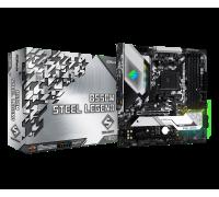 Материнская плата для AMD AsRock B550M STEEL LEGEND 4xDDR4 2х M.2 sata/NVMe + m.2 for wi-fi/bt USB Type-C