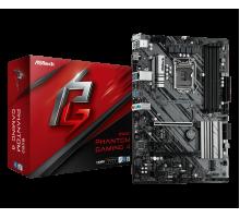 Материнская плата для Intel AsRock B460 PHANTOM GAMING 4 4xDDR4 M.2 sata/NVMe + m.2 for wi-fi/bt