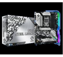 Материнская плата для Intel AsRock B460 STEEL LEGEND 4xDDR4 2х M.2 sata/NVMe + m.2 for wi-fi/bt Type-C