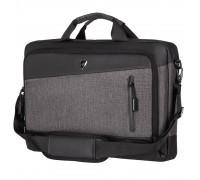 "Сумка для ноутбука 2E Laptop Bag, Slant 16"", Grey-Black"