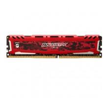 Оперативная память DDR4 Ballistix Sport LT Red 8GB 3200mhz CL16 AES