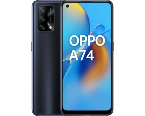 Смартфон Oppo A74 Black 4+128
