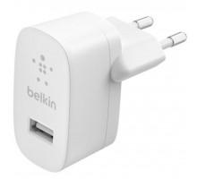 Сетевое ЗУ Сетевое ЗУ Belkin SINGLE USB-A WALL CHARGER,12W,WHT