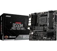 Материнская плата MSI B550M PRO-VDH WIFI Bluetooth