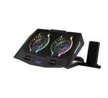 Подставки для ноутбуков Cooling Pad 2E-CPG-006 Black