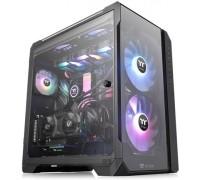 Корпус компьютерный Thermaltake View 51 Tempered Glass Black Snow ARGB Edition