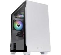 Корпус компьютерный Thermaltake S100 TG Snow Edition White