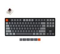 Клавиатура механическая Keychron K8 87 keys   Aluminum Frame   Hot-Swap   RGB   Wireless   Black