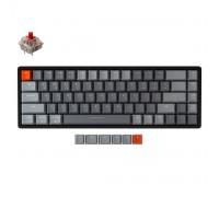 Клавиатура механическая Keychron K6 68 keys   Aluminum Frame   Hot-Swap   RGB   Wireless   Black
