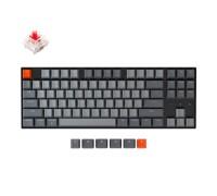 Клавиатура механическая Keychron K8 87 keys   Hot-Swap   White LED   Wireless   Black