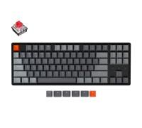 Клавиатура механическая Keychron K8 Aluminum Frame 87 keys, Optical Red, Hot-Swap, RGB, Black
